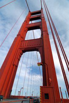 Free Bridge Vertical View Royalty Free Stock Photo - 2573555