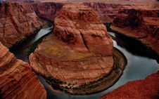 Free Horse Shoe Bend Royalty Free Stock Image - 2574376