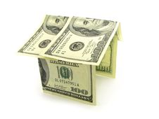 Free House From The Money Royalty Free Stock Images - 2574719