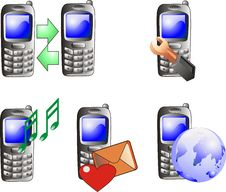 Free Icons Stock Photography - 2574842