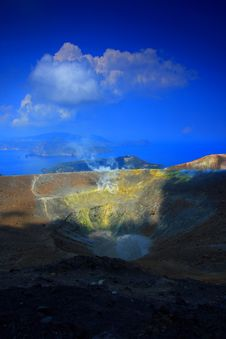 Free Contrast On The Volcano Royalty Free Stock Photo - 2575505