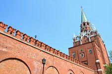 Free Troitskay Tower Stock Image - 2575631