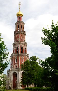 Free Highest Bell Tower In Moscow Royalty Free Stock Photography - 2576837
