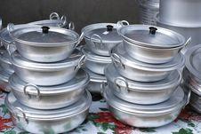 Aluminum Pot Royalty Free Stock Image
