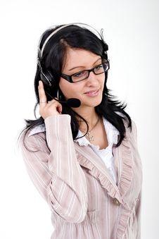 Free Call Center Operator Stock Photography - 2579782