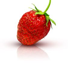 Free Fresh Strawberry Royalty Free Stock Photography - 2579957