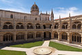 Free Court In Jeronimos Monastery, Lisbon Stock Images - 25707194