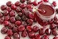 Free Cherry Juice Stock Image - 25707821