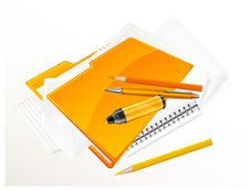 Free Folder & Stationery Stock Image - 25707971