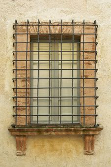 Free Window Protected By A Railing Stock Photo - 25708130