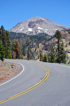 Free Mountain Highway Stock Photography - 25708872