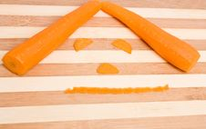 Free Carrot Face Stock Image - 25714891