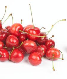 Free Heap Of Fresh Ripe Cherry Royalty Free Stock Photos - 25720398