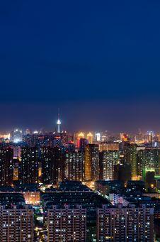 Free The Night Of Harbin Stock Photos - 25720793