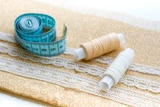 Free Sewing Materials Stock Image - 25722591