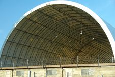 Free Dome Roofed Building Restricted Area Stock Photo - 25723290