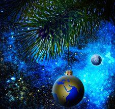 Free Christmas Decoration Royalty Free Stock Image - 25724276