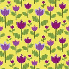 Free Flowers Background Royalty Free Stock Photo - 25725625
