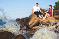 Free Couple In Love On The Lake Royalty Free Stock Image - 25730646