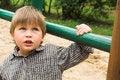 Free Boy On The Playground Royalty Free Stock Image - 25737406