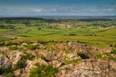 Free View From Crook Peak Somerset Stock Images - 25730074
