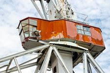 Free Crane Cabin Royalty Free Stock Photography - 25730617