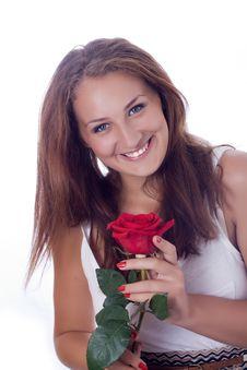 Attractive Caucasian Woman Stock Photo