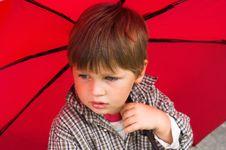 Boy With The Umbrella