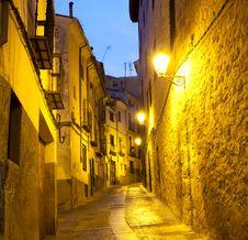 Free Alleyways In Cuenca Royalty Free Stock Images - 25737699