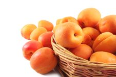 Free Ripe Apricots Royalty Free Stock Photography - 25739497