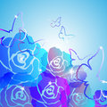 Free Abstract Roses Background Royalty Free Stock Photography - 25745627