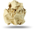 Free Crumpled Paper Ball Royalty Free Stock Images - 25749619