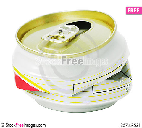 Free Aluminum  Cans Stock Image - 25749521