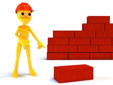 Free Builder Royalty Free Stock Images - 25744419