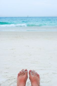 Free Looking At Ocean Royalty Free Stock Photo - 25744655