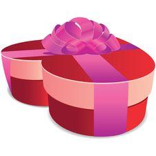 Free Valentine Gift Box Stock Image - 25744841