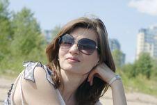 Free Beautiful Woman In Sunglasses Stock Image - 25745941