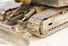 Free Bulldozer Chain Stock Images - 25748944