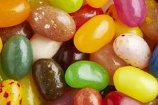 Free Jelly Beans Royalty Free Stock Images - 25749429