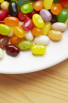 Free Jelly Beans Stock Photography - 25749502