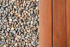 Free Pebble And Wood Stock Photography - 25749772