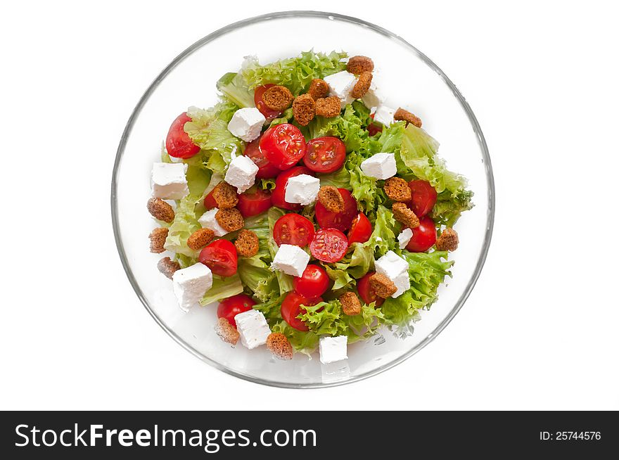 Ceasar Salad with rusks