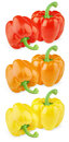 Free Set Of Colorful Sweet Peppers Stock Image - 25754291