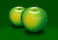 Free Green Apple Royalty Free Stock Image - 25759196