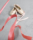 Free Old Ballet Shoes Stock Images - 25759944