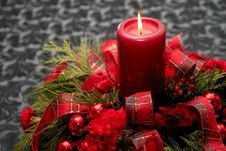 Free Red Christmas Decoration Stock Images - 25750524