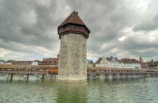 Free Chapel Bridge, Lucerne Royalty Free Stock Photos - 25752728