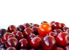 Free Cherry And Tomato Stock Photography - 25754142