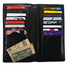 Free Wallet With Plastic Cards Royalty Free Stock Photos - 25756508