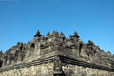 Free Borobudur With Clear Blue Sky Royalty Free Stock Photos - 25758268